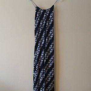 Vince silk slip maxi dress